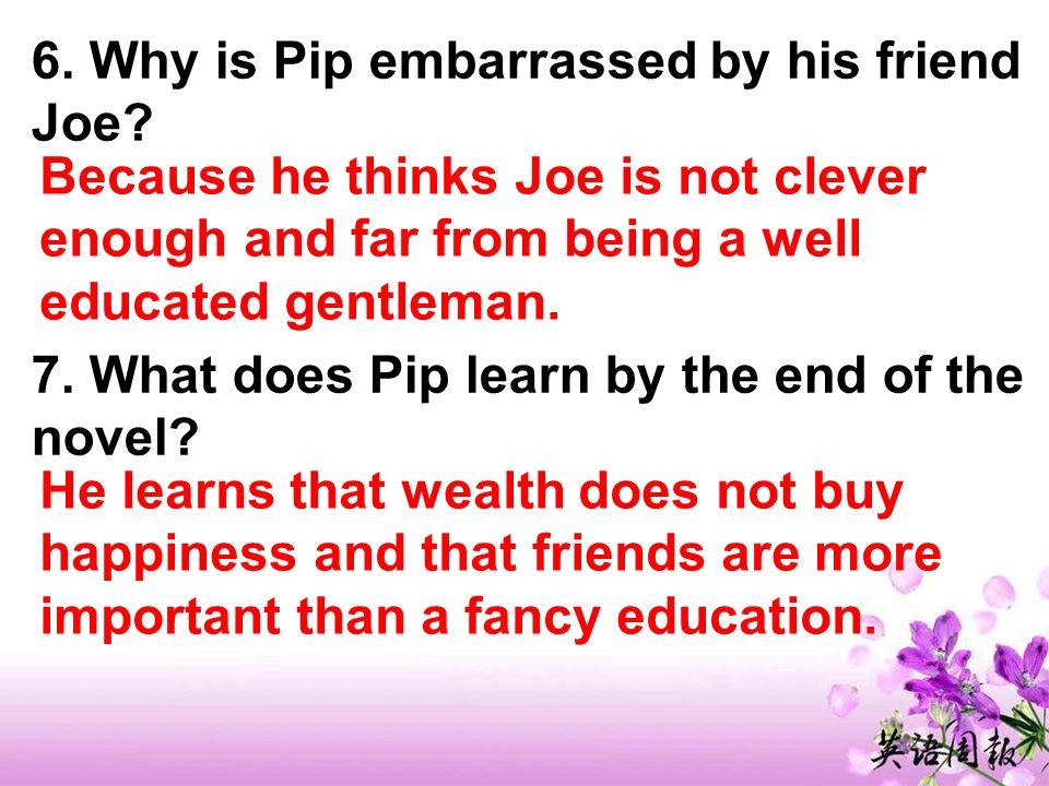 Joe is a kind and simple man.