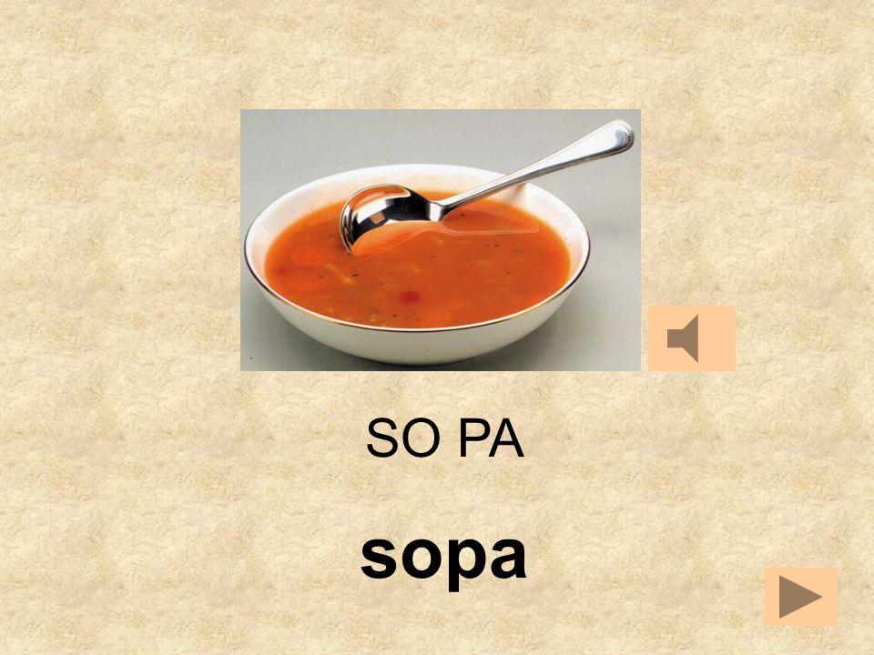 SO PEPA SE SO __
