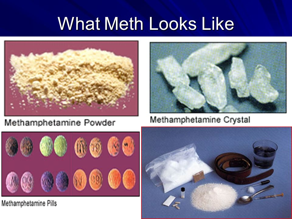 Ohio Resource Network www.ebasedprevention.org 10 What Meth Looks Like