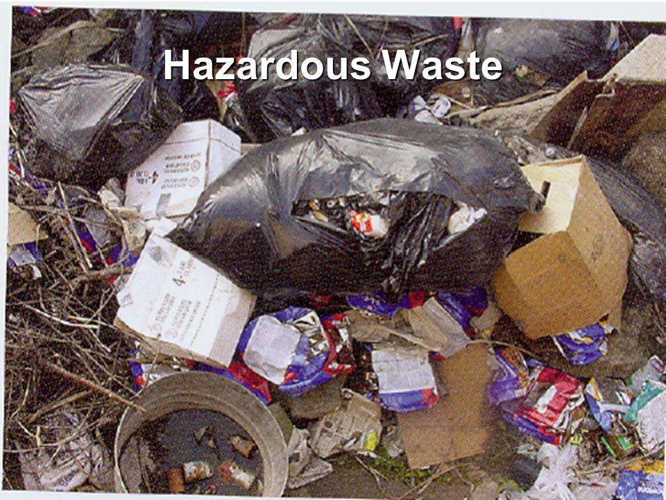 Ohio Resource Network www.ebasedprevention.org 61 Hazardous Waste