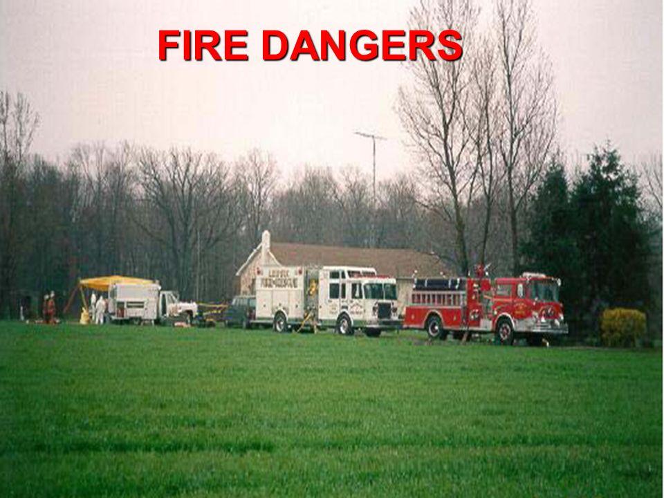 Ohio Resource Network www.ebasedprevention.org 62 FIRE DANGERS