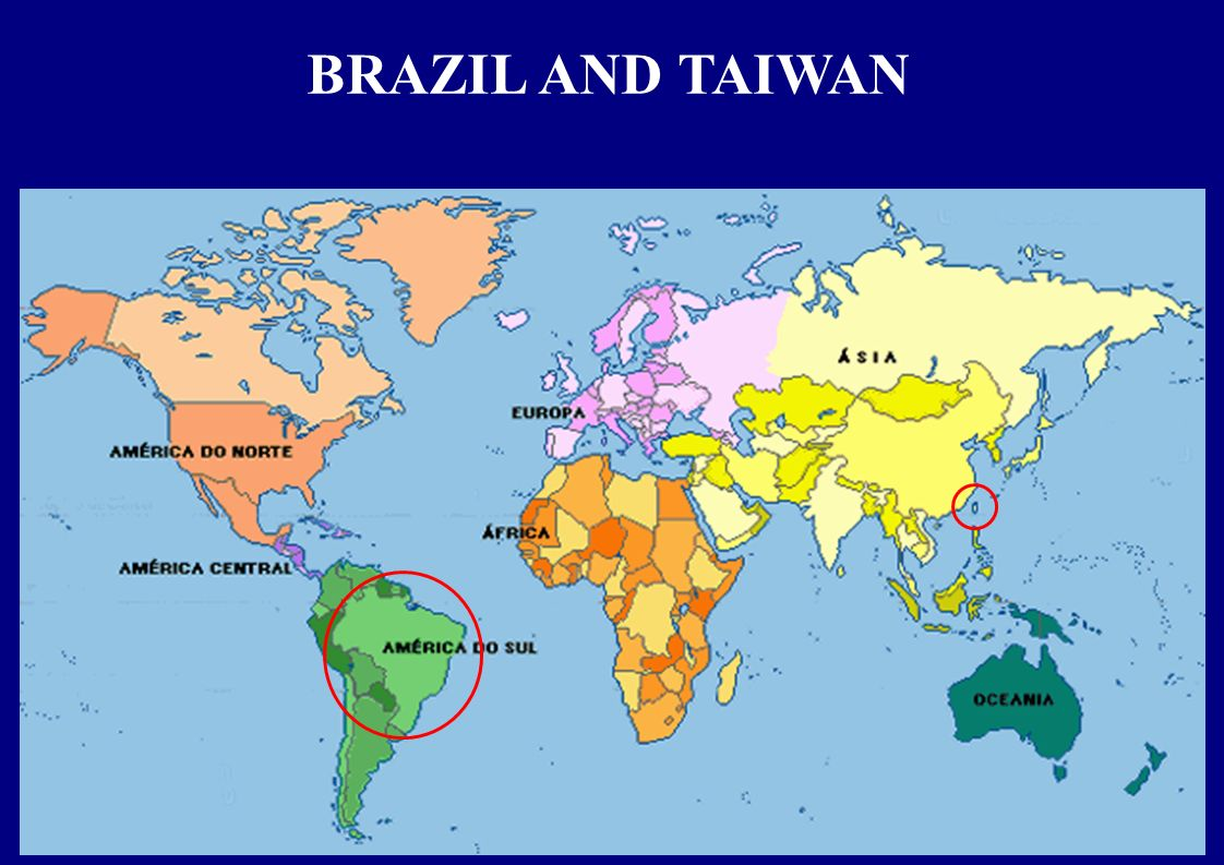 BRAZIL AND TAIWAN