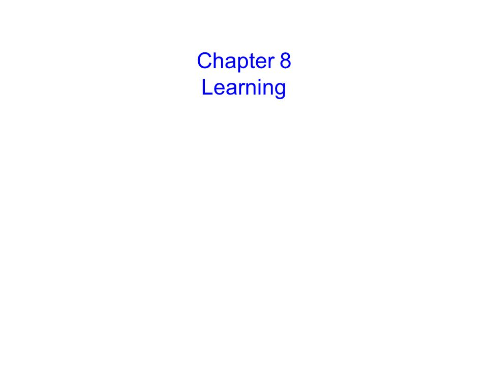 © 2004 John Wiley & Sons, Inc. Huffman: PSYCHOLOGY IN ACTION, 7E Chapter 8 Learning