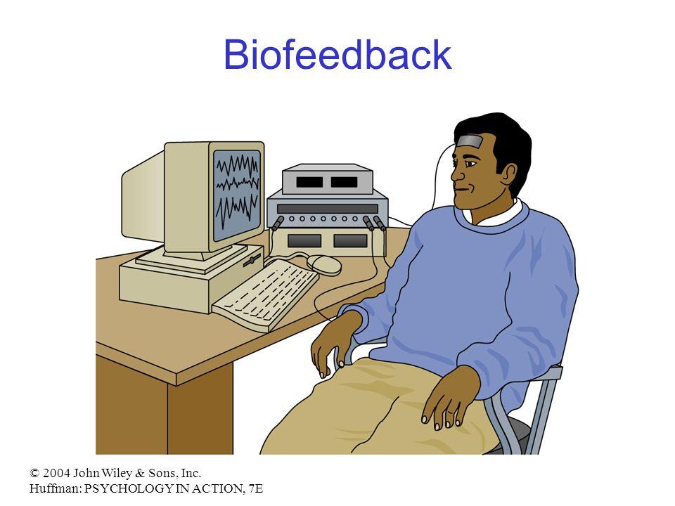© 2004 John Wiley & Sons, Inc. Huffman: PSYCHOLOGY IN ACTION, 7E Biofeedback
