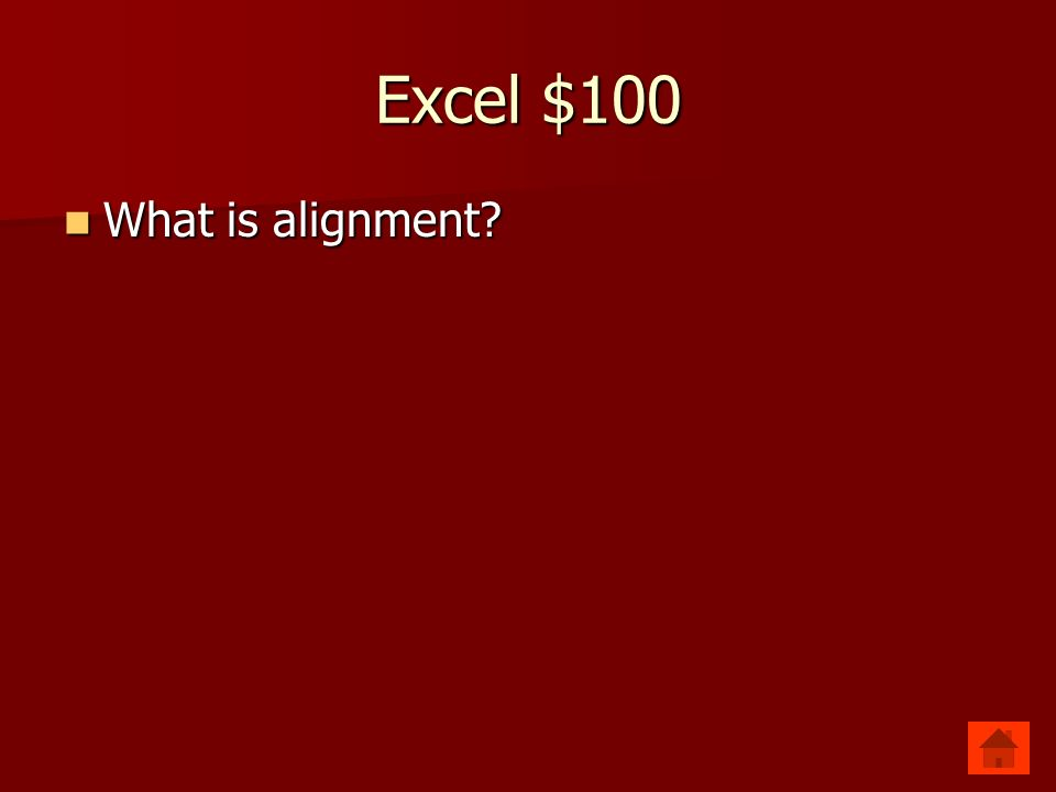 Excel $100 Positioning of date for selected cells. Positioning of date for selected cells.