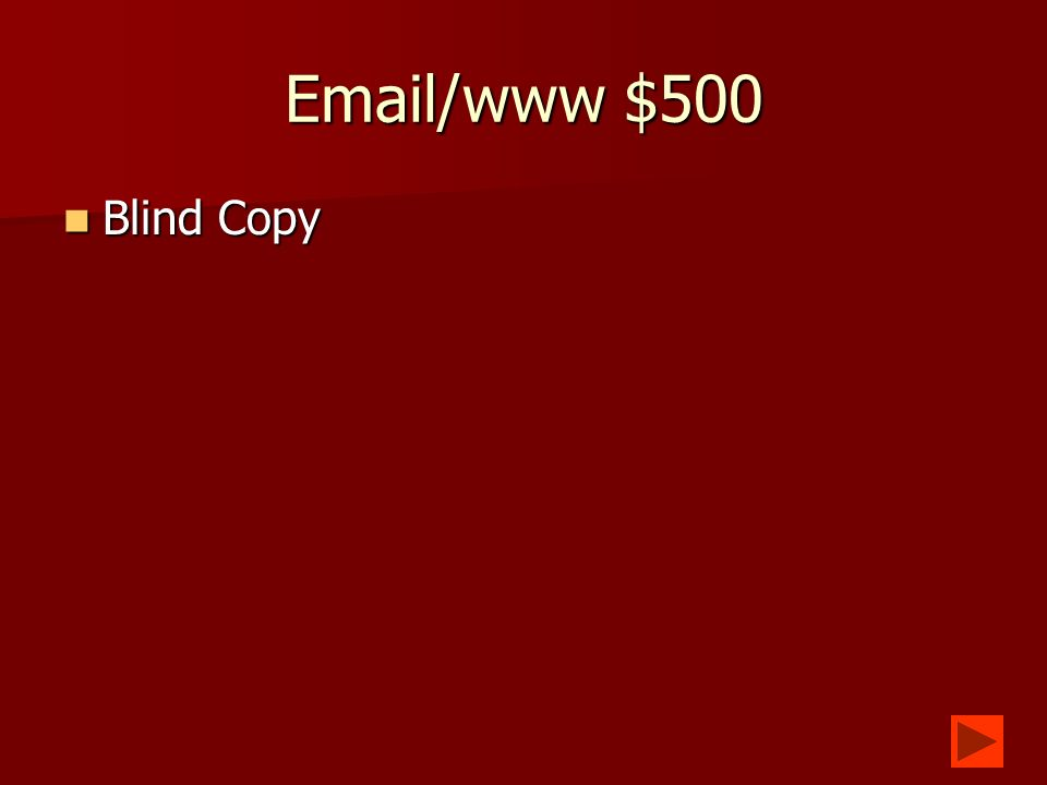 Email/www $400 What are etiquette rules that govern email.