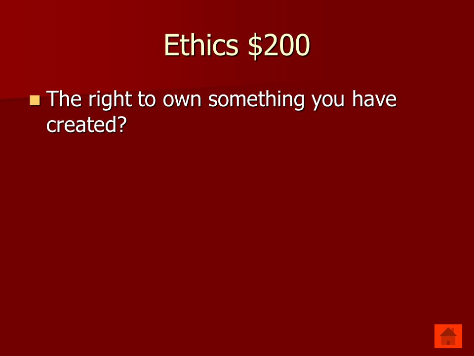 Ethics $200 Copyright Copyright
