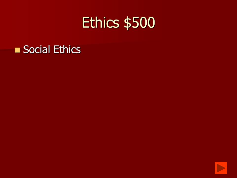 Ethics $400 What is a policy that governs how you can use somebody elses computers.