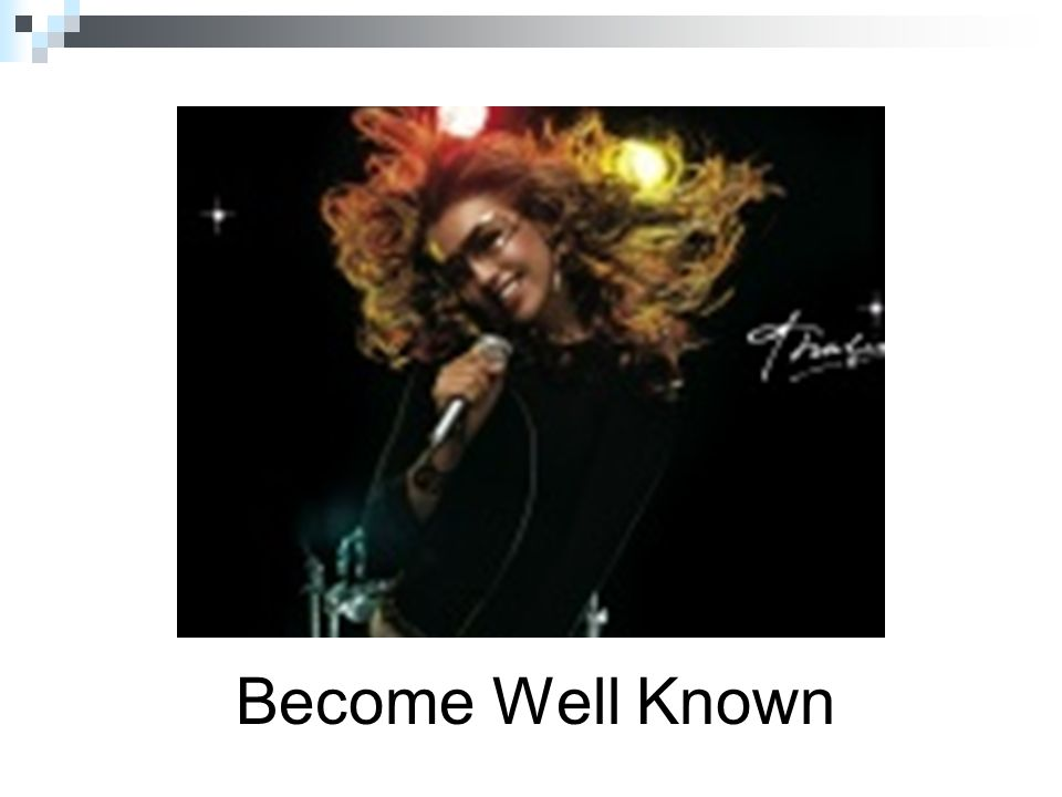 Become Well Known