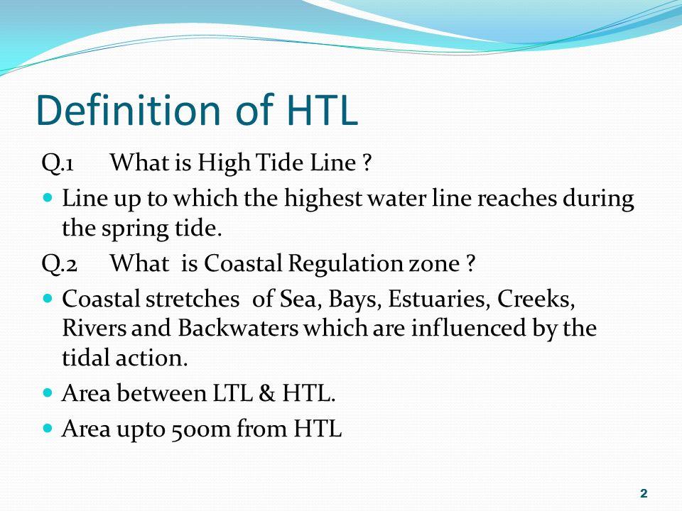 Coastal Regulation Zone 1