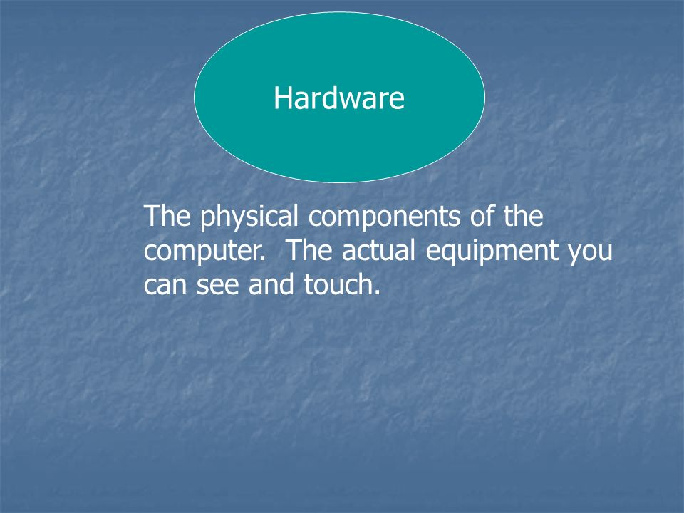Hardware Peripheral A peripheral is an external piece of hardware that is important, but not necessary for a computer system to work.