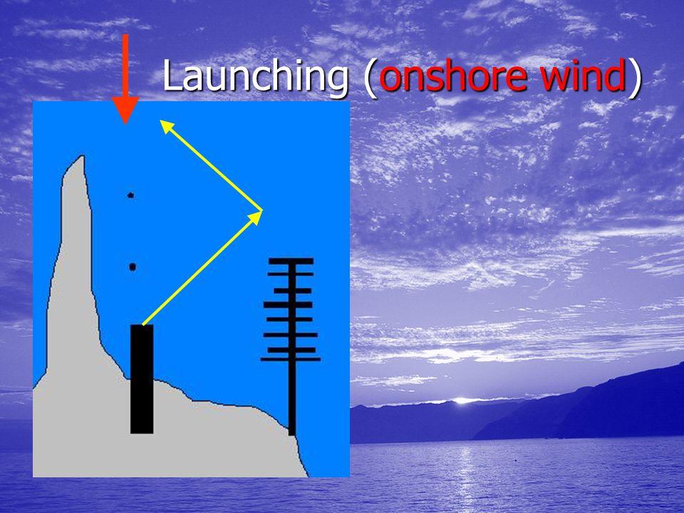 Launching (onshore wind) Launching (onshore wind)
