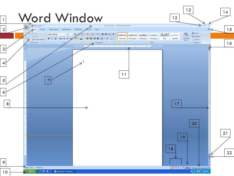 Word Window 1 2 3 4 5 6 7 8 9 10 11 12 13 14 15 16 17 18 19 20 21 22