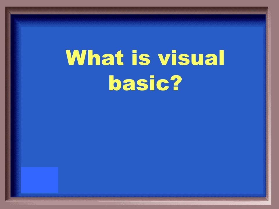 PowerPoints programming language