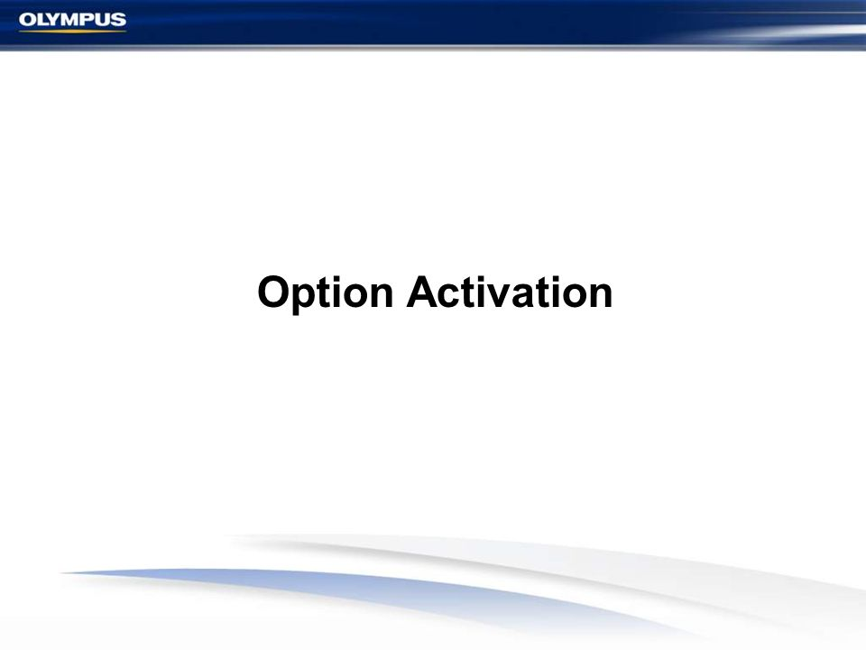 Option Activation