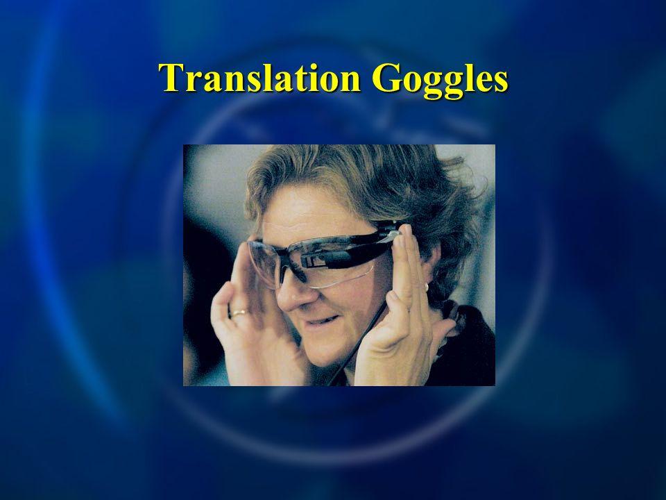 Translation Goggles