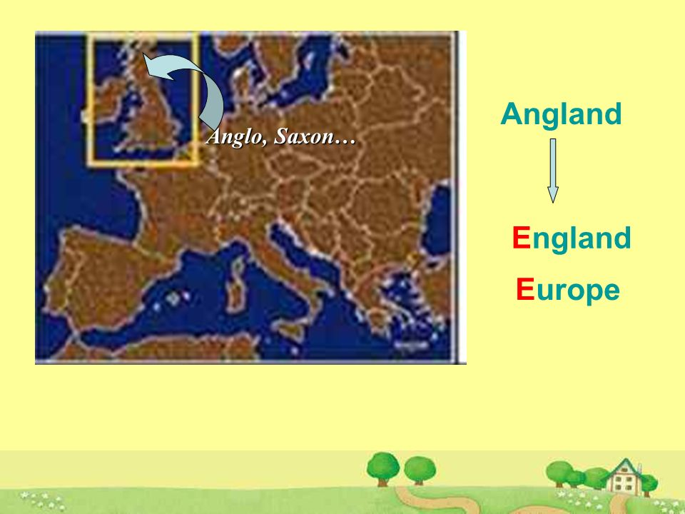 culture Who When What People from northern Europe French people In the 5th century About 1066 The basis for English End up with many French words