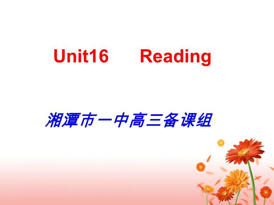 Unit16 Reading
