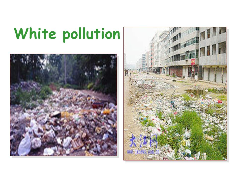 Can you imagine how much waste is thrown away in China every year.