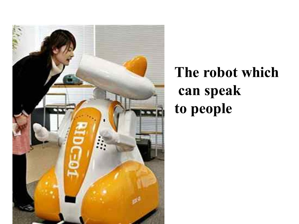 The robot which can fight in the war