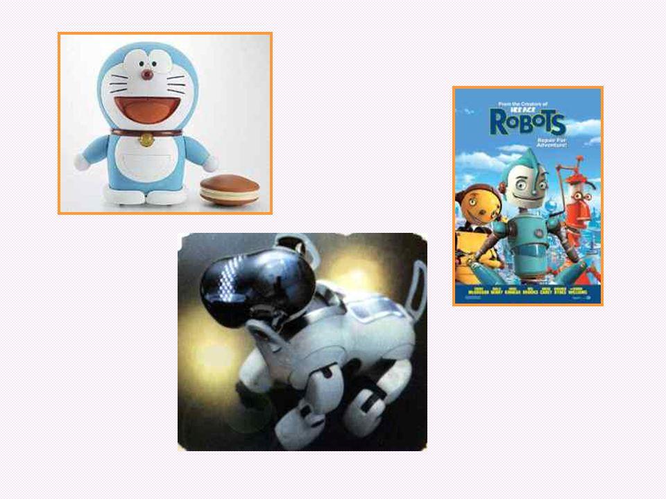Choose your favorite robot. Warming up