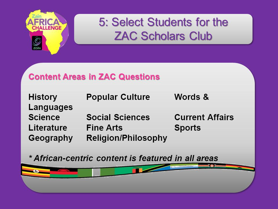 Content Areas in ZAC Questions Content Areas in ZAC Questions History Popular Culture Words & Languages Science Social Sciences Current Affairs Litera