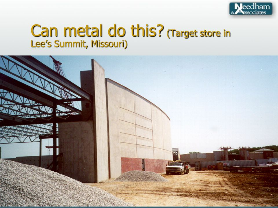 Can metal do this? (Target store in Lees Summit, Missouri)