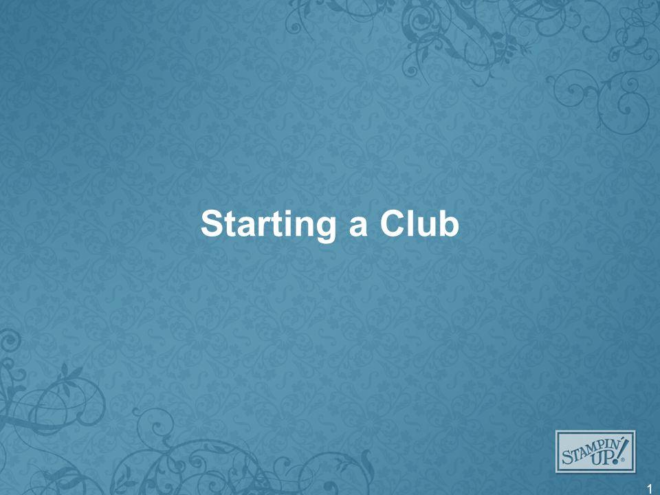 Starting a Club 1