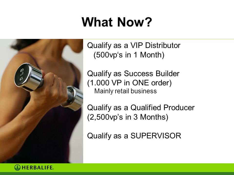 It is so Simple! Get in contact with your sponsor or your upline Make use of all Herbalife events
