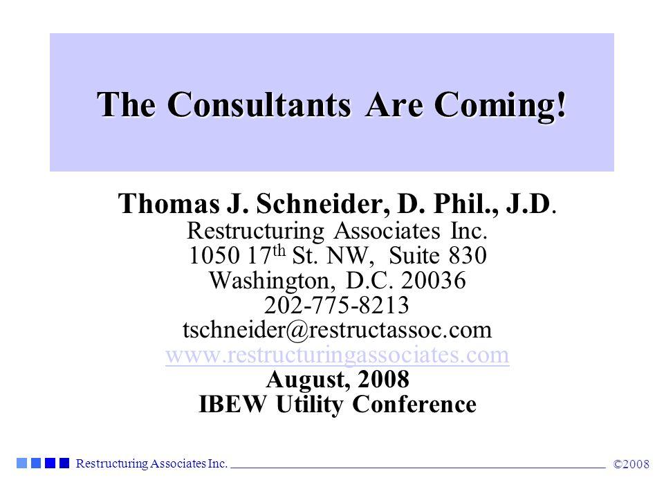 Restructuring Associates Inc.