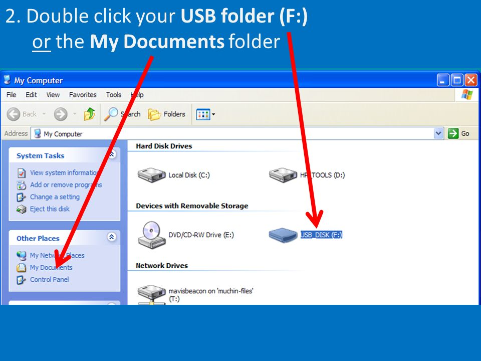 3. Double click your file name (ex: DGustafson – English – Name Story)