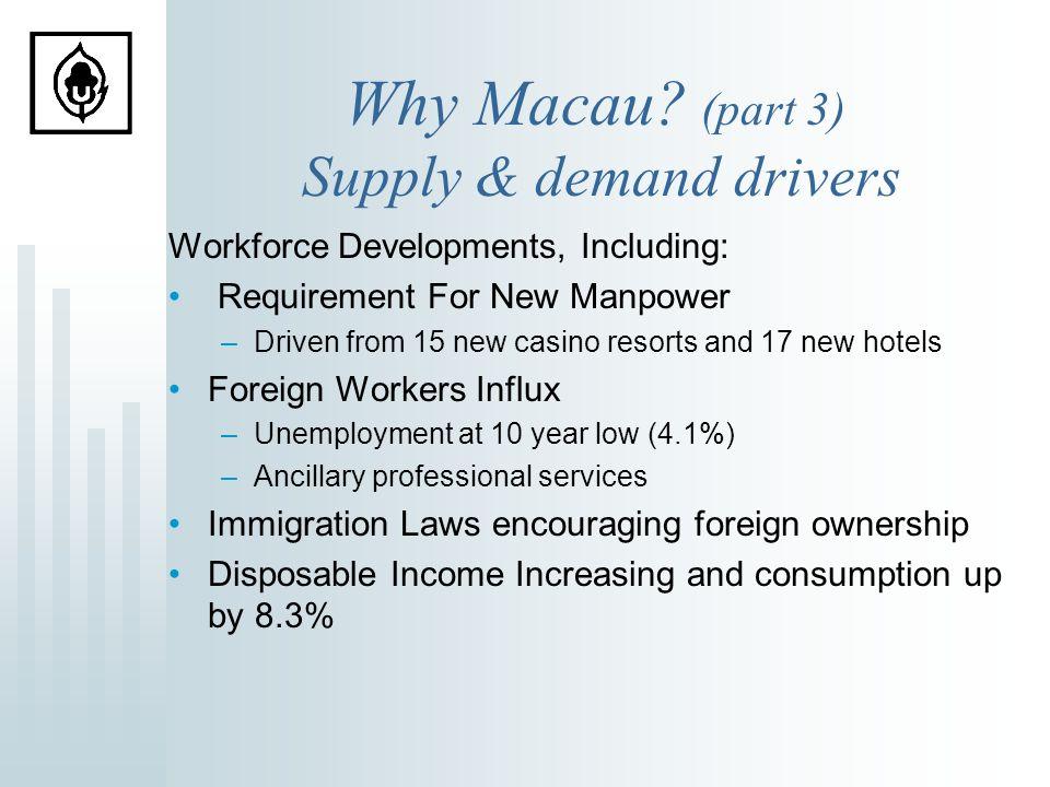 Why Macau.