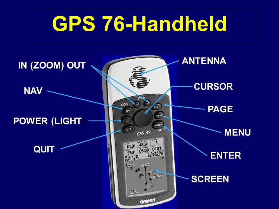 Set the GPS Alarms! *X*XTE Alarm. *A*Anchor Alarm. *W*Waypoint Arrival Alarm
