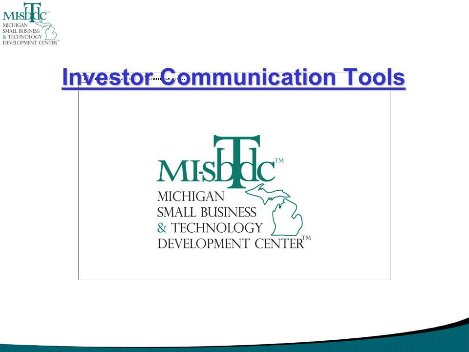 Investor Communication Tools