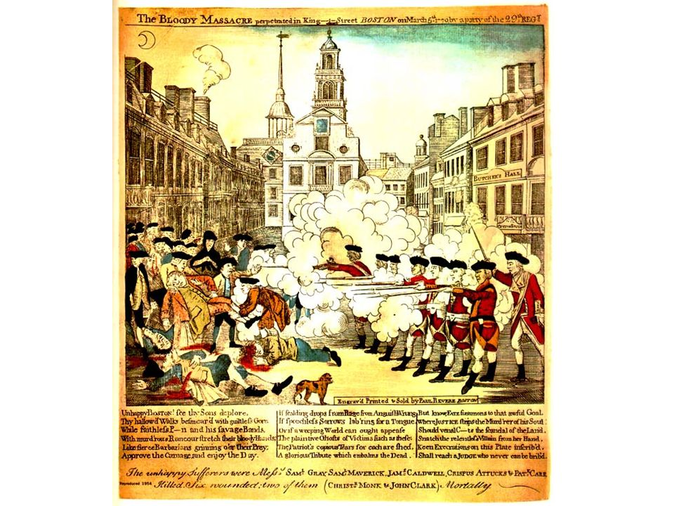 Intolerable Acts ctd.The next two were signed by the King on May 20 II.