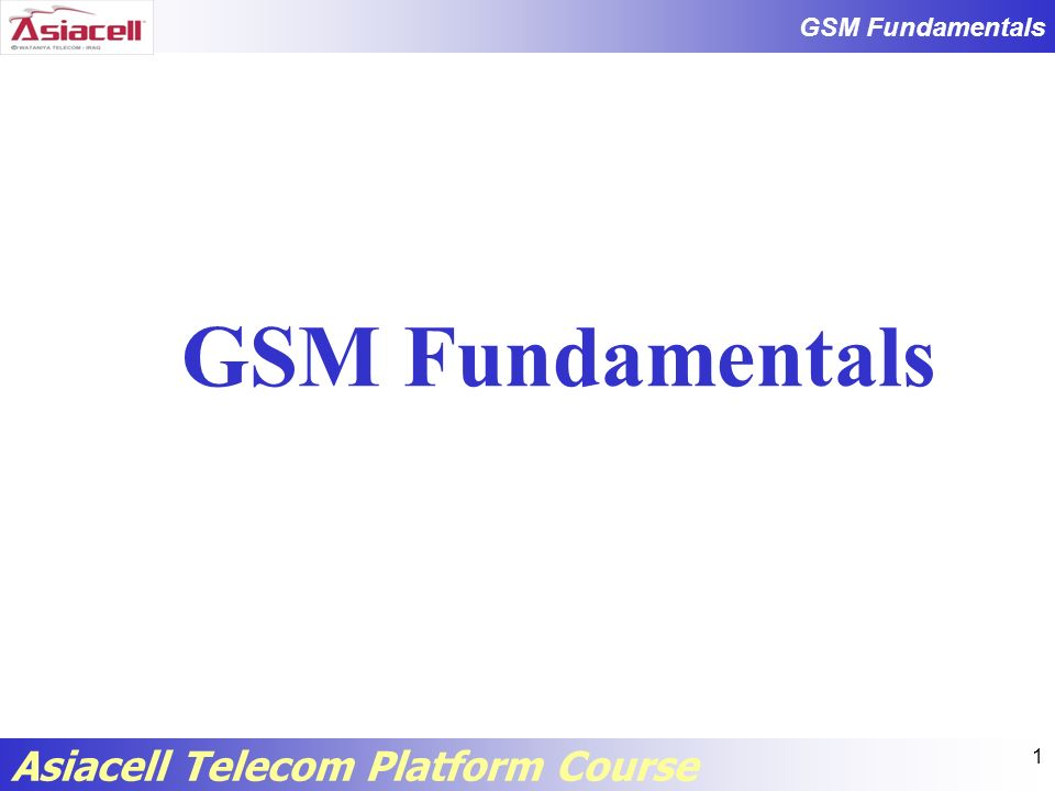 GSM Fundamentals Asiacell Telecom Platform Course 22 Home Location Register (HLR) Subscriber ID (IMSI and MSISDN) Current subscriber VLR (current location) Supplementary service information Subscriber status (registered/deregistered) Authentication key and AuC functionality Subscriber ID (IMSI and MSISDN) Current subscriber VLR (current location) Supplementary service information Subscriber status (registered/deregistered) Authentication key and AuC functionality