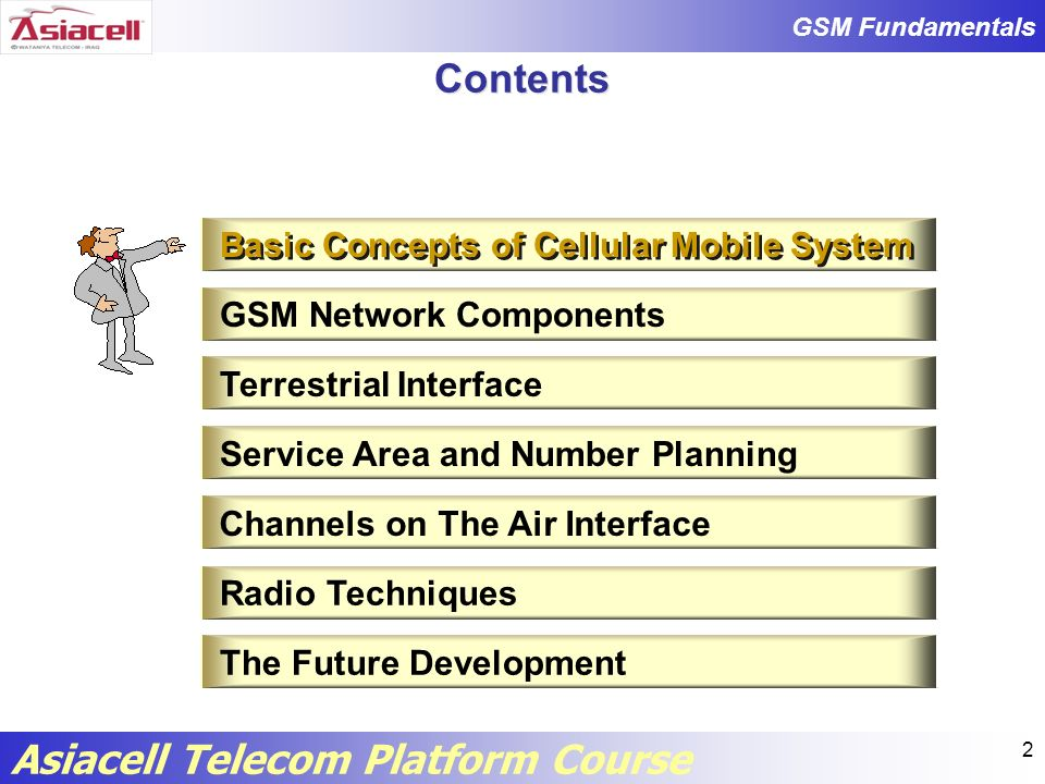 GSM Fundamentals Asiacell Telecom Platform Course 63 CCH DCCH SDCCH FACCH SACCH DCCH is assigned to a single mobile connection for call setup or for measurement and handover purpose.