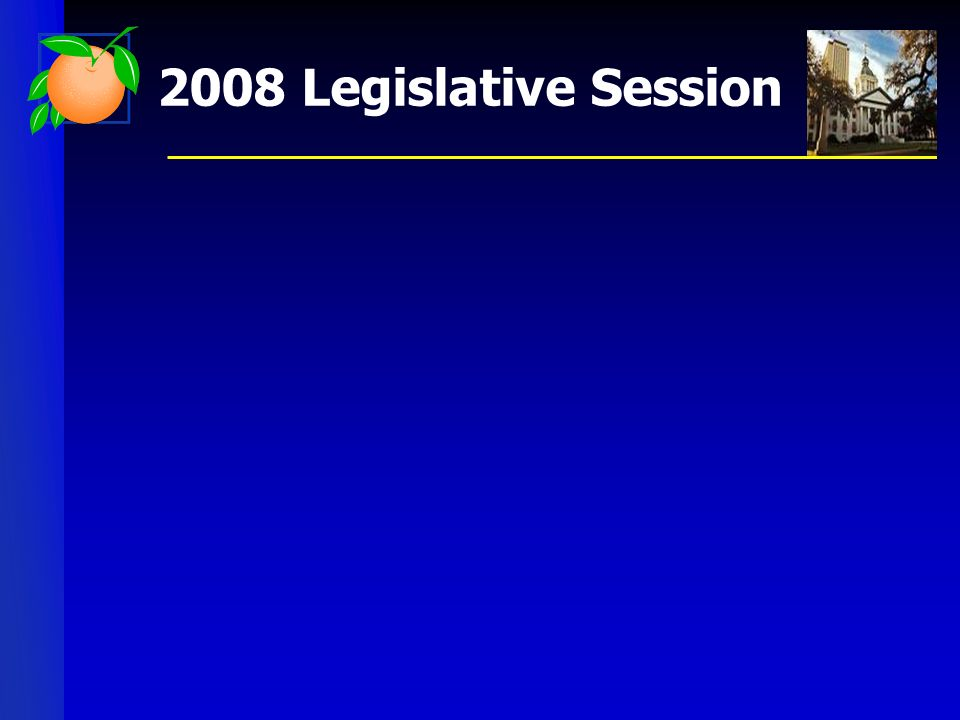 2008 Legislative Session