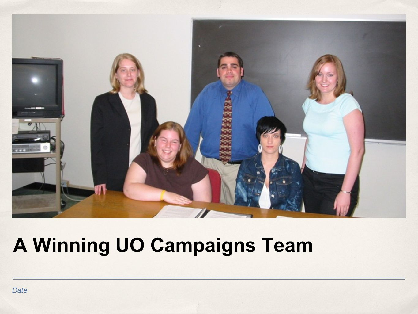 Date A Winning UO Campaigns Team
