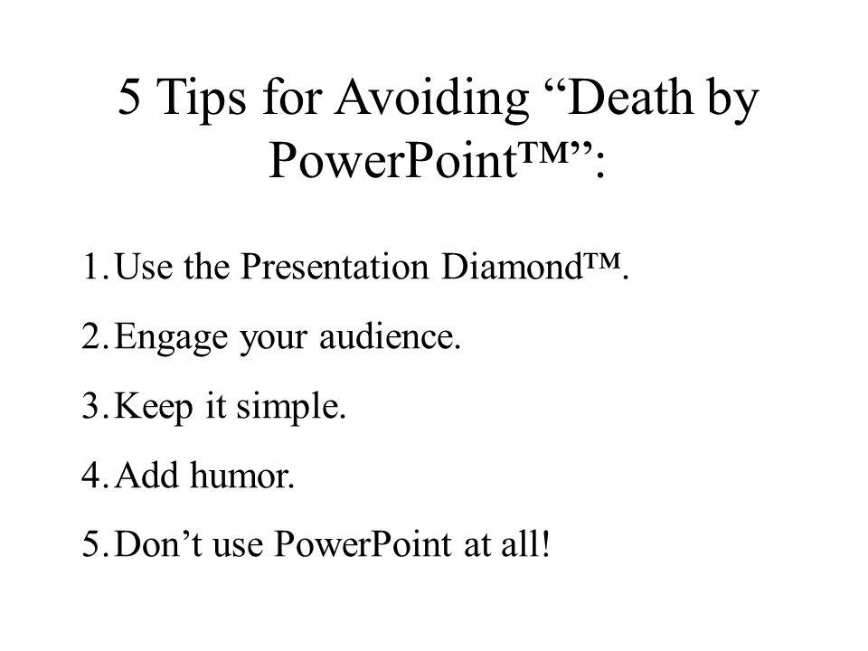 Tip #5: