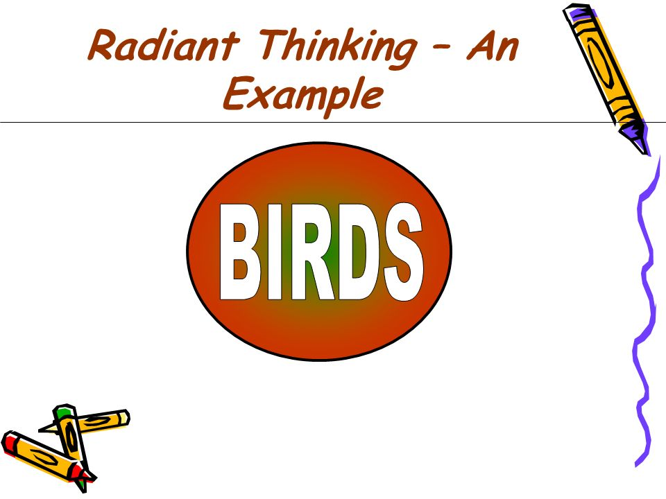 Radiant Thinking – An Example