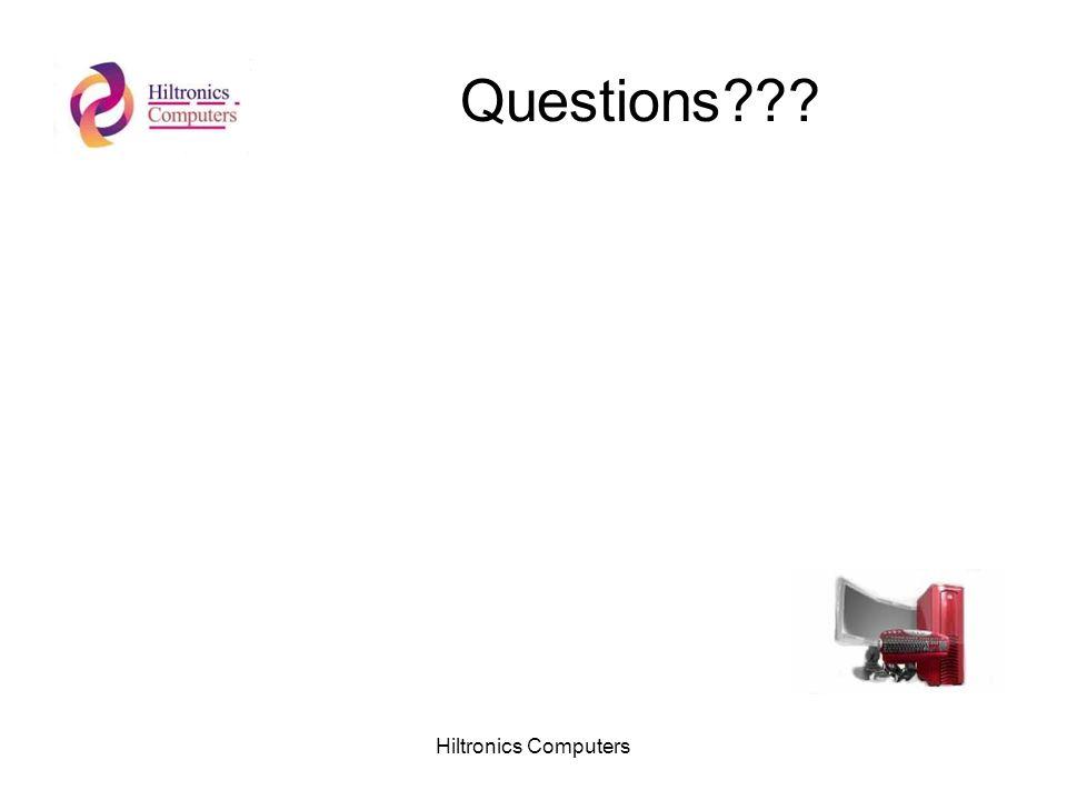Hiltronics Computers Questions???