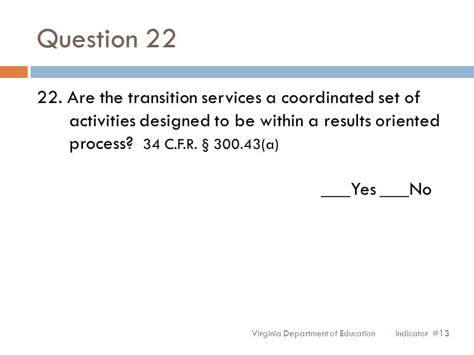 Question 22 22.