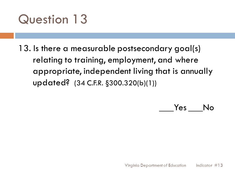 Question 13 13.