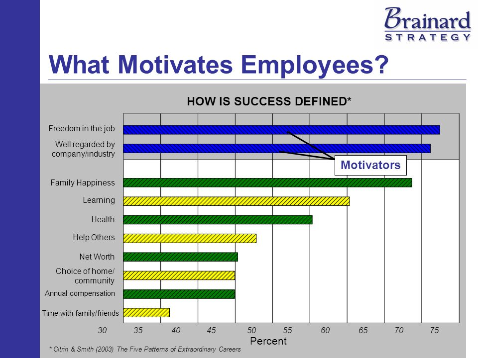 What Motivates Employees.