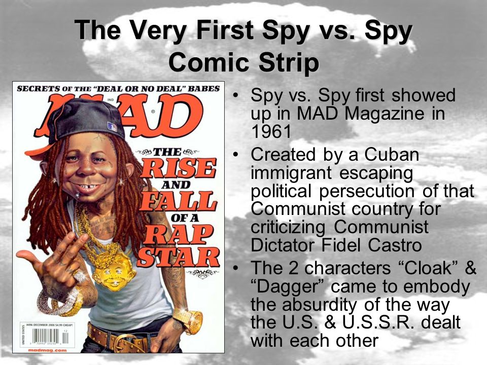 The Very First Spy vs. Spy Comic Strip Spy vs.