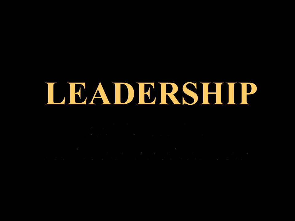 1/9/2014 1 LEADERSHIP