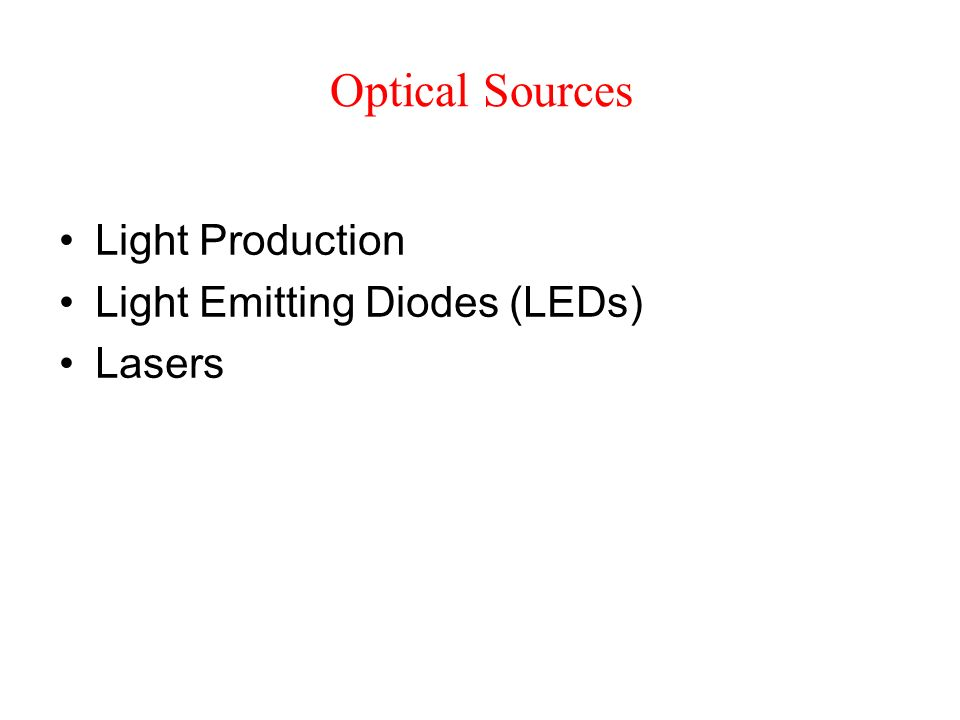 Light as an Electromagnetic Wave