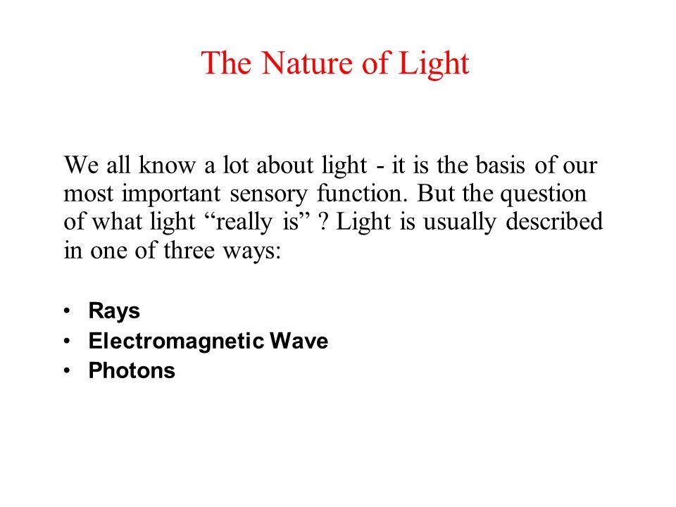 Part 1 :Light and material بسم الله الر حمن الرحيم
