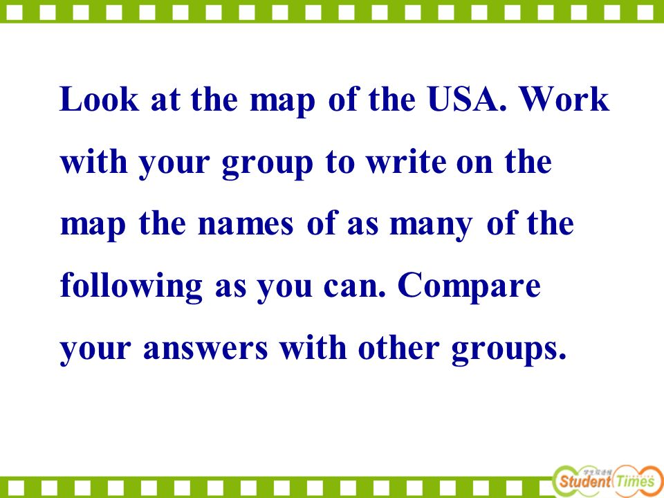 5. There are 52 stars on the American flag. 6. George Washington was the first American President. 7. The first settlers arrived in North America abou
